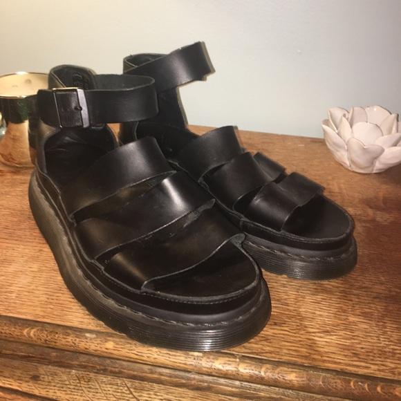 9a6b303fb676 Dr. Martens Shoes - Black Dr marten sandals